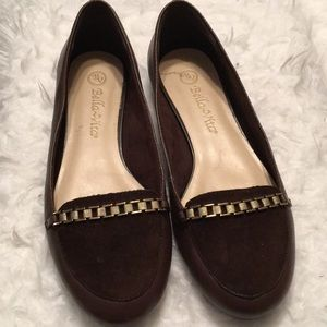Bella Vita Brown Leather Flats